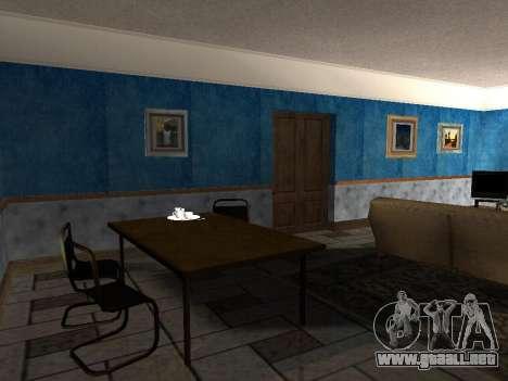 El nuevo interior de la casa de CJ para GTA San Andreas