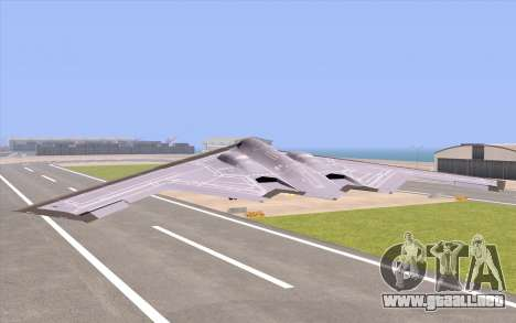B-2 Spirit para GTA San Andreas left