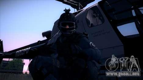 Special Weapons and Tactics Officer Version 4.0 para GTA San Andreas twelth pantalla