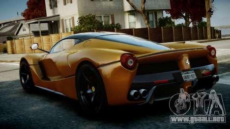 Ferrari LaFerrari v1.2 para GTA 4 visión correcta