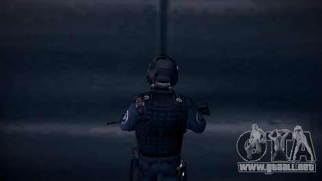 Special Weapons and Tactics Officer Version 4.0 para GTA San Andreas sexta pantalla