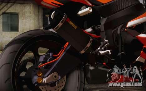 Ninja ZX6R Stunt Setup para la visión correcta GTA San Andreas
