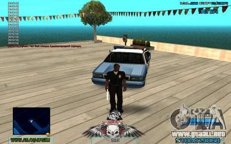 C-HUD by Extazy v1.1 para GTA San Andreas