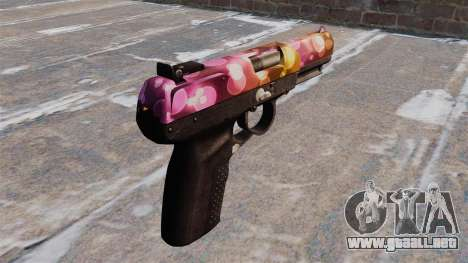 Pistola FN Cinco de los siete Puntos para GTA 4 segundos de pantalla