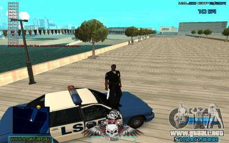 C-HUD by Extazy v1.1 para GTA San Andreas tercera pantalla