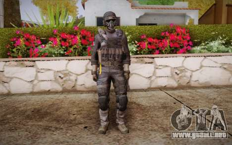Kick из de Call of Duty: Ghosts para GTA San Andreas
