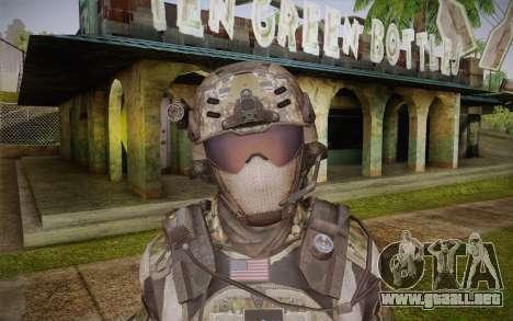 Crosby from Call of Duty: Black Ops II para GTA San Andreas tercera pantalla