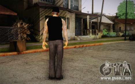 M. Shadows Skin para GTA San Andreas tercera pantalla