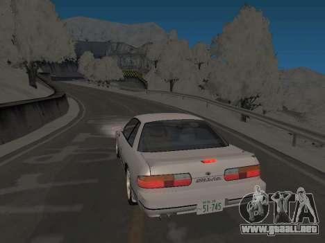 SinAkagi Snow Drift track para GTA San Andreas segunda pantalla