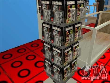 La tienda de LEGO para GTA San Andreas sexta pantalla