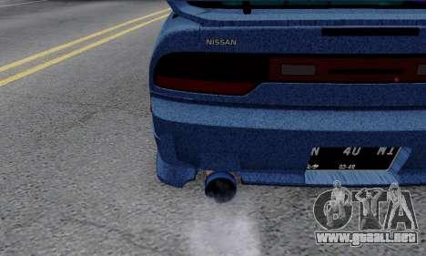 Nissan 240SX para visión interna GTA San Andreas