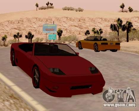 Super GT Convertible para la visión correcta GTA San Andreas