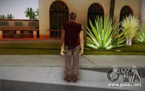 Sin hogar para GTA San Andreas segunda pantalla