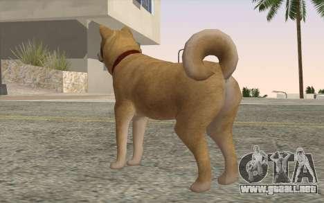 Perro para GTA San Andreas segunda pantalla