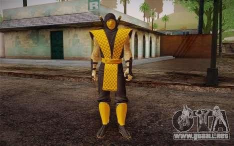 Clásico Escorpión из MK9 DLC para GTA San Andreas