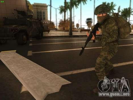 Bombardero de la moderna Ejército ruso para GTA San Andreas