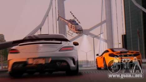 SA Beautiful Realistic Graphics 1.7 Final para GTA San Andreas segunda pantalla