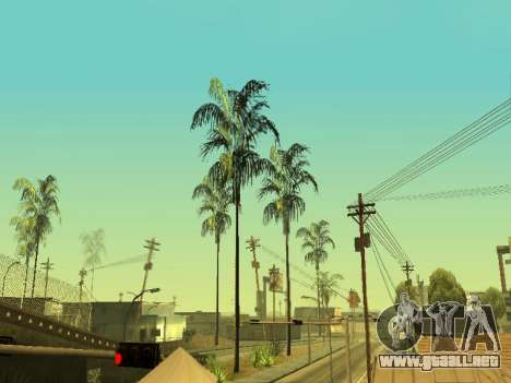 Beta Timecyc para GTA San Andreas sucesivamente de pantalla