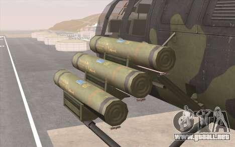 Bo-105 para visión interna GTA San Andreas
