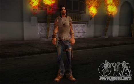 Jake Conway из Ride to Hell: Retribution para GTA San Andreas