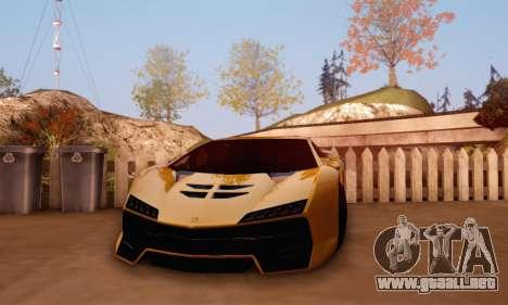 Pegassi Zentorno GTA 5 v2 para la visión correcta GTA San Andreas