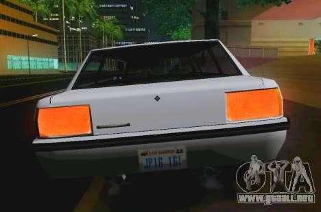 Vincent Limousine para la visión correcta GTA San Andreas