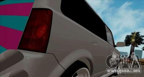 Toyota BB para la visión correcta GTA San Andreas