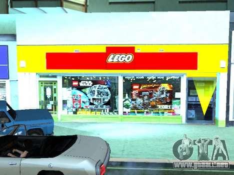 La tienda de LEGO para GTA San Andreas novena de pantalla