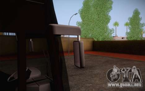 Mercedes-Benz Argentina Thailand Bus para visión interna GTA San Andreas