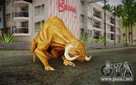 Sirian Werebull para GTA San Andreas