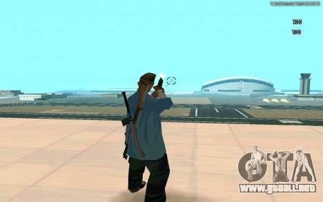 Visión eterna para GTA San Andreas quinta pantalla