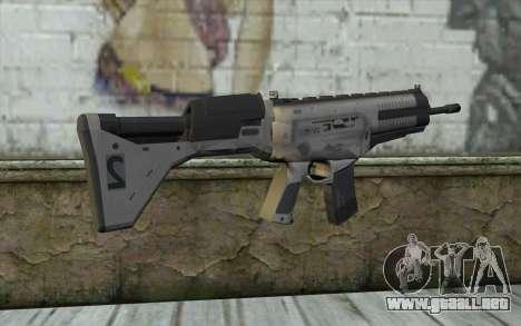 ARX-160 Rifle de Asalto из BACALAO Fantasmas para GTA San Andreas segunda pantalla