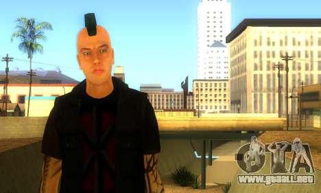Punk (vwmycr) para GTA San Andreas segunda pantalla