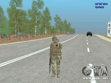 Alfa Antiterrorismo para GTA San Andreas twelth pantalla