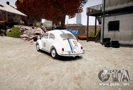 Volkswagen Beetle 1962 para GTA 4 left