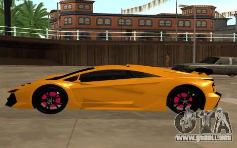 GTA 5 Zentorno para GTA San Andreas left