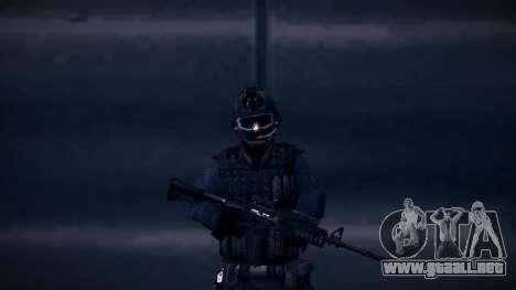 Special Weapons and Tactics Officer Version 4.0 para GTA San Andreas quinta pantalla
