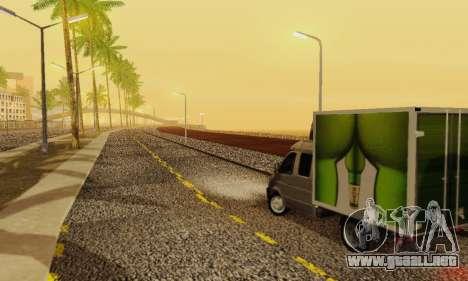 Heavy Roads (Los Santos) para GTA San Andreas octavo de pantalla