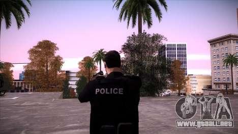 Special Weapons and Tactics Officer Version 4.0 para GTA San Andreas undécima de pantalla