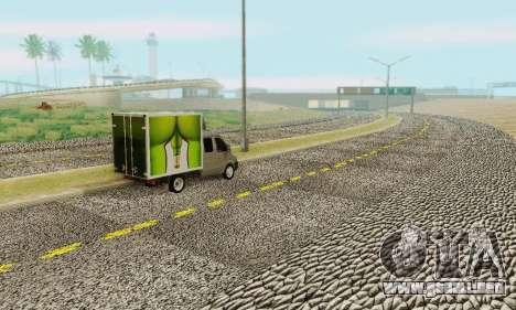 Heavy Roads (Los Santos) para GTA San Andreas segunda pantalla