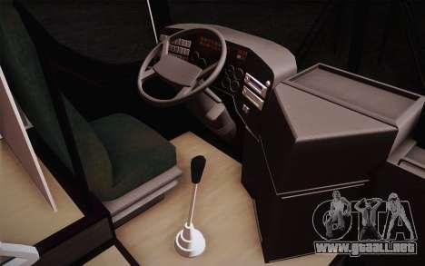Mercedes-Benz Argentina Thailand Bus para GTA San Andreas vista posterior izquierda