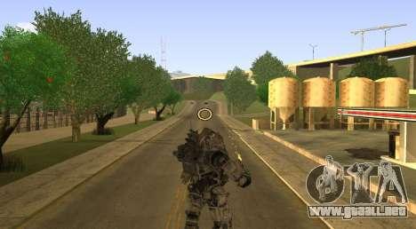 TitanFall Atlas para GTA San Andreas quinta pantalla