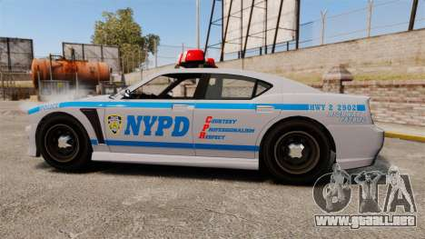 GTA V Bravado Buffalo NYPD para GTA 4 left