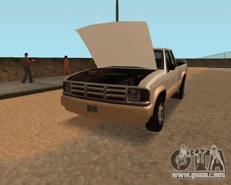 Recogida Nuevo para la visión correcta GTA San Andreas