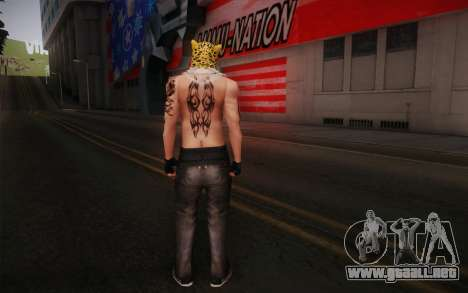 King from Tekken para GTA San Andreas segunda pantalla