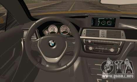 BMW M4 F80 Stanced para GTA San Andreas vista hacia atrás