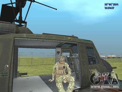Alfa Antiterrorismo para GTA San Andreas octavo de pantalla