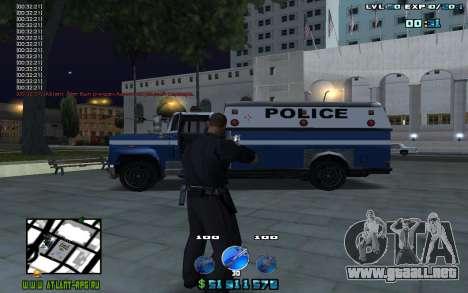 C-HUD by Mr.Riko para GTA San Andreas segunda pantalla