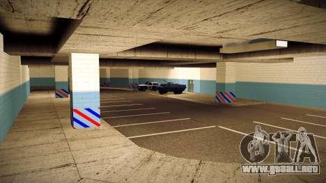Nuevo garaje LSPD para GTA San Andreas quinta pantalla