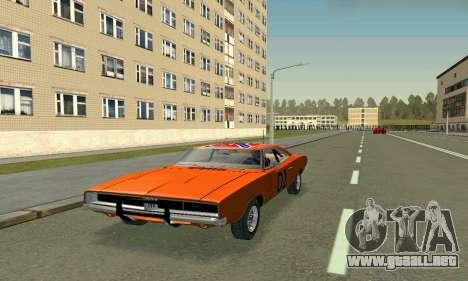 Dodge Charger General lee para GTA San Andreas